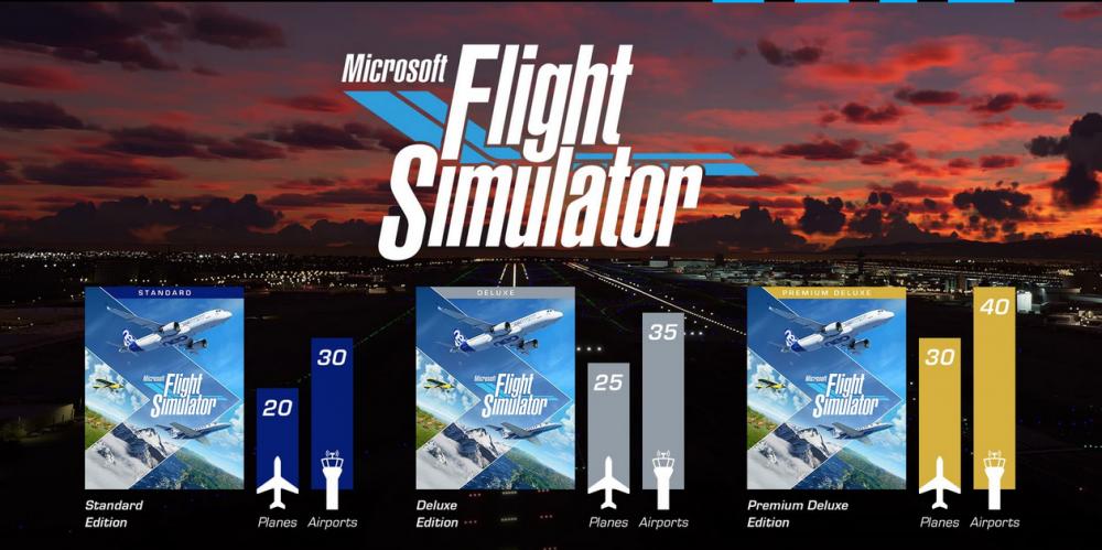 Microsoft Flight Simulator: Premium Deluxe Edition Alle